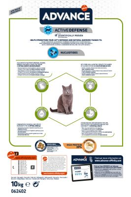 Affinity Advance Sterilized Junior 24 poulet pour chat