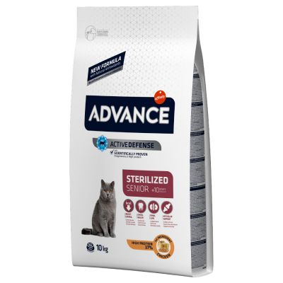Affinity Advance Sterilized Senior +10 poulet pour chat