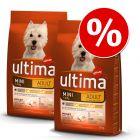 Affinity Ultima ração para cães 2 x 7 kg/7,5 kg/15 kg - Pack económico