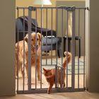 Afsluithek Dog Barrier 2 met kattenluik