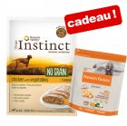 Aliment humide Nature's Variety True Instinct pour chien + croquettes de 600 g offertes !