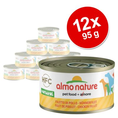 Almo Nature HFC 12 x 95 g - Pack Ahorro