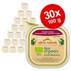 Almo Nature BioOrganic Maintenance -säästöpakkaus 30 x 100 g