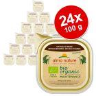 Almo Nature BioOrganic Maintenance 24 x 100 g pour chien