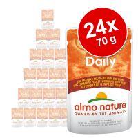 Almo Nature Cat Daily Menu kapsička 24 x 70 g