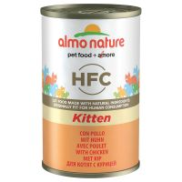 Almo Nature Classic HFC Kitten poulet 6 x 140 g pour chaton