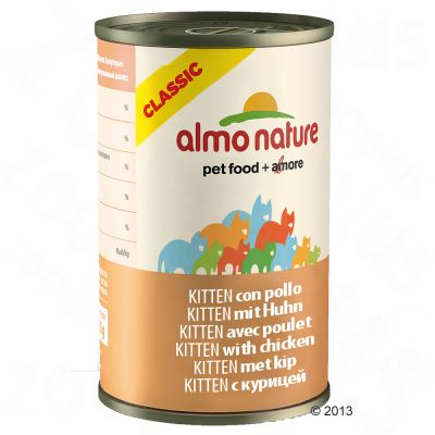 Almo Nature Classic HFC Kitten, 6 x 140 g