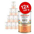 Almo Nature Classic HFC Kitten, 12 x 140 g