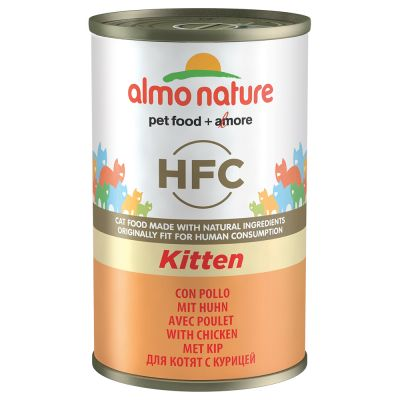 Almo Nature Classic HFC Kitten, 12 x 140 g