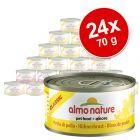 Almo Nature Classic & Legend kedvezményes csomag 24 x 70 g