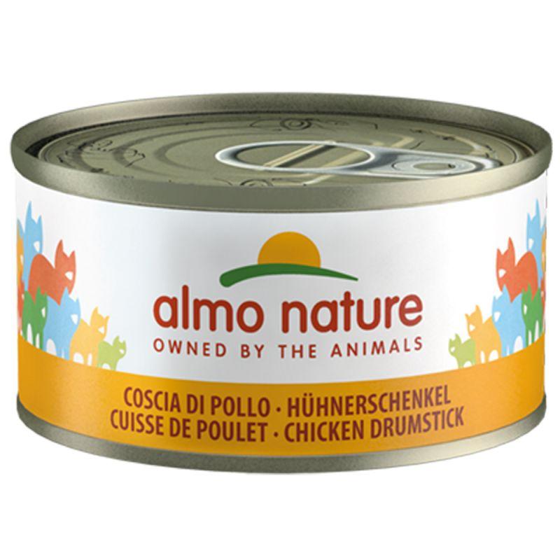 Almo Nature con carne 6 x 70 g