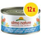 Almo Nature con pescado 12 x 70 g - Pack Ahorro