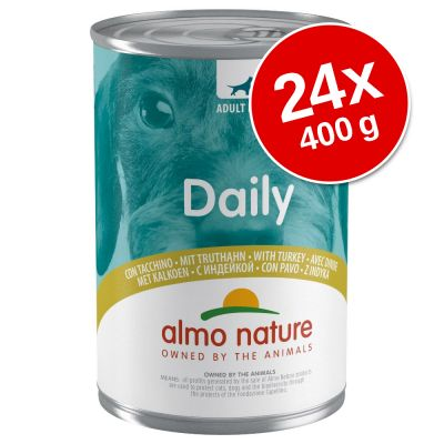 Almo Nature Daily Dog 24 x 400 g