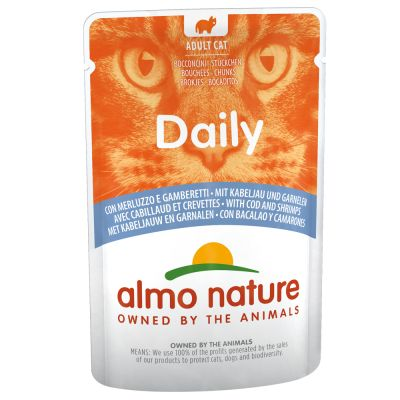 Almo Nature Daily Menu Pouches 6 x 70g