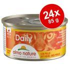 Almo Nature Daily Menu -säästöpakkaus 24 x 85 g