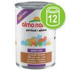Almo Nature Daily Menu Voordeelpakket Kattenvoer 12 x 400 g