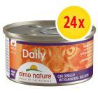 Almo Nature Daily Menu Voordeelpakket Kattenvoer 24 x 85 g