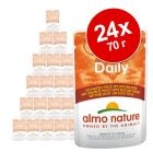 Экономупаковка Almo Nature Daily Menu 24 x 70 г