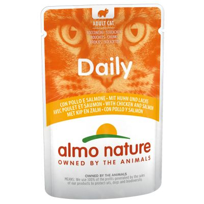 Almo Nature Daily Menu 6 x 70 g pour chat