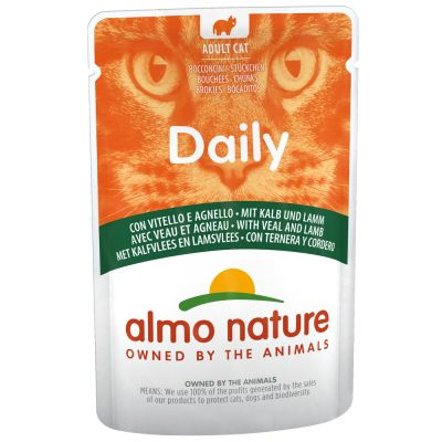 Almo Nature Daily 6 x 70 g