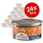 Almo Nature Daily 24 x 85 g Alimento umido per gatti