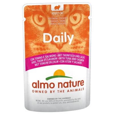 Almo Nature Daily 6 x 70 g pour chat