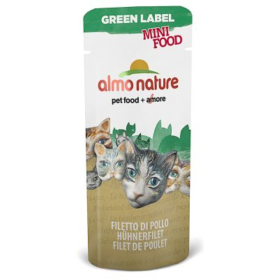 Almo Nature Green Label Mini Food snack para gatos