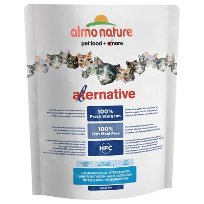 Almo Nature HFC Alternative, esturgeon frais pour chat