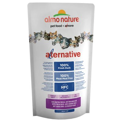 Almo Nature HFC Alternative Gatto con Anatra Fresca