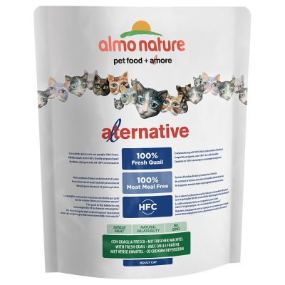 Almo Nature HFC Alternative with Fresh Quail