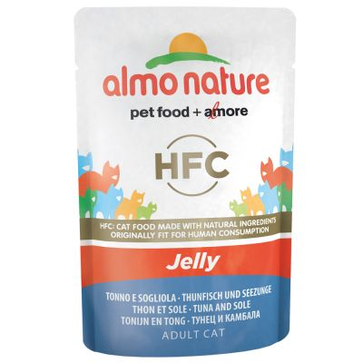 Almo Nature HFC Jelly в паучове 6 x 55 г