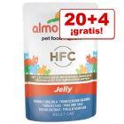 Almo Nature HFC Jelly 24 x 55 g sobres en oferta: 20 + 4 ¡gratis!