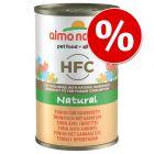Almo Nature HFC -kissanruoka 24 x 140 g erikoishintaan!