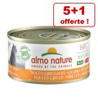 Almo Nature HFC Natural Made in Italy 5 x 70 g + 1 boîte offerte !