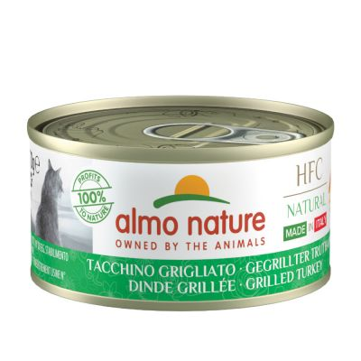 Almo Nature HFC Natural Made in Italy 6 x 70 g en oferta: 5 + 1 ¡gratis!