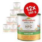 Πακέτο Προσφοράς Almo Nature HFC Natural 12 x 280 g