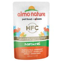 Almo Nature HFC Pouch,  6 x 55 g
