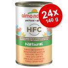 Almo Nature HFC -säästöpakkaus: 24 x 140 g
