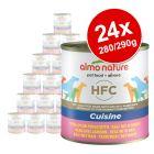 Almo Nature HFC -säästöpakkaus 24 x  280 g / 290 g