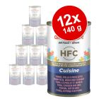 Almo Nature HFC Voordeelpakket Kattenvoer 12 x 140 g