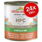 Икономична опаковка Almo Nature HFC 24 x 280 г