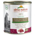 Almo Nature HFC 6 x 280 g Alimento umido per gatti