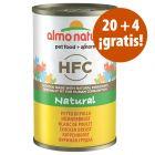 Almo Nature HFC 24 x 140 g en oferta: 20 + 4 ¡gratis!