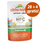 Almo Nature HFC 24 x 55 g sobres en oferta: 20 + 4 ¡gratis!