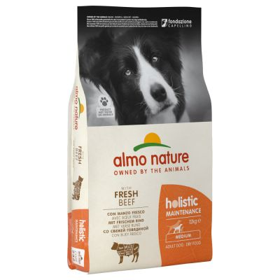 Almo Nature Holistic Adult Rind & Reis Medium