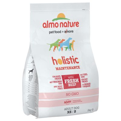 Almo Nature Holistic Adult Rind & Reis Small