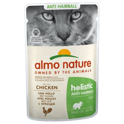 Almo Nature Holistic Anti Hairball en bolsitas