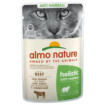 Almo Nature Holistic Anti Hairball 70 g pour chat