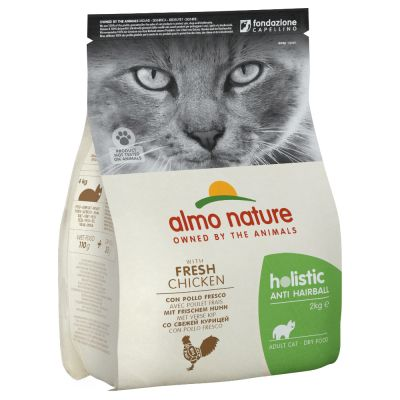 Almo Nature Holistic Anti Hairball poulet, riz