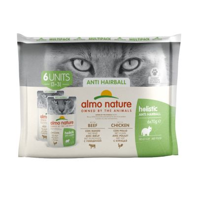 Almo Nature Holistic Anti-Hairball Pouches 70g